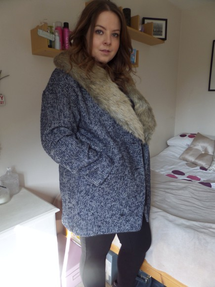 OOTD Florence + Fred coat
