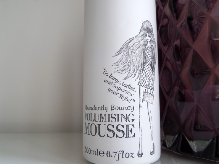 Percy & Reed's Abundantly Bouncy Volumising Mousse review