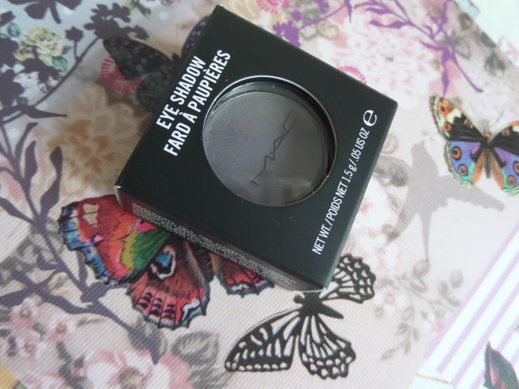 MAC Eyeshadow Scene Review