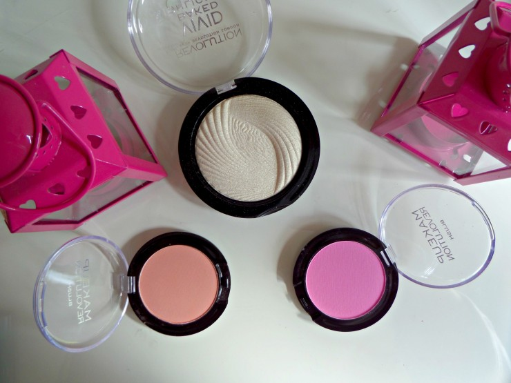 Makeup Revolution Highlighter and Blusher
