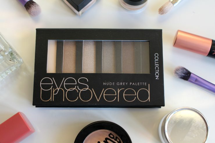 Collection Eyes Uncovered Nude Grey Palette