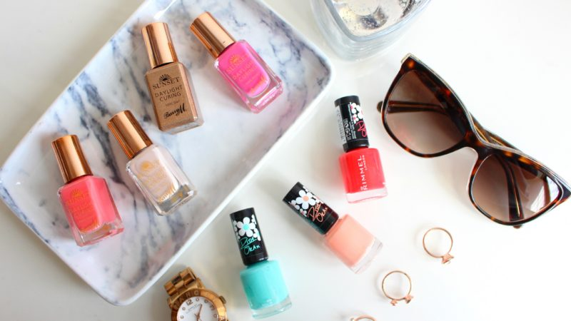 Nail polishes for summer