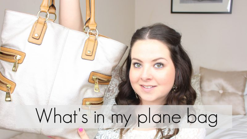 What's in my plane bag