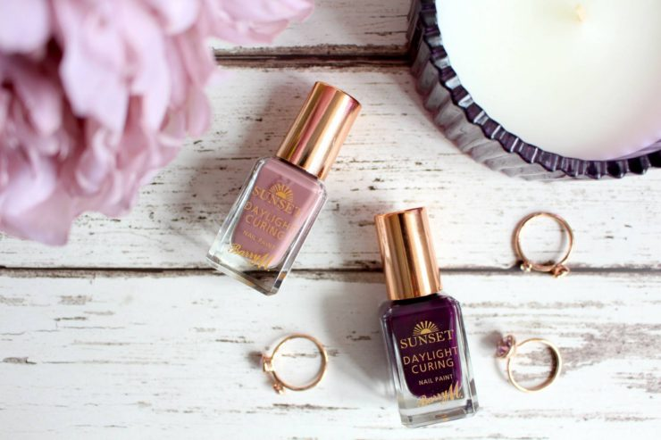 Barry M Autumn/Winter Sunset Daylight Curing Nail Paints