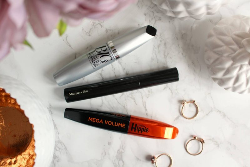 Three new mascaras to try