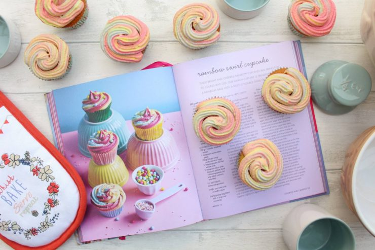 Rainbow Swirl Cupcake Recipe