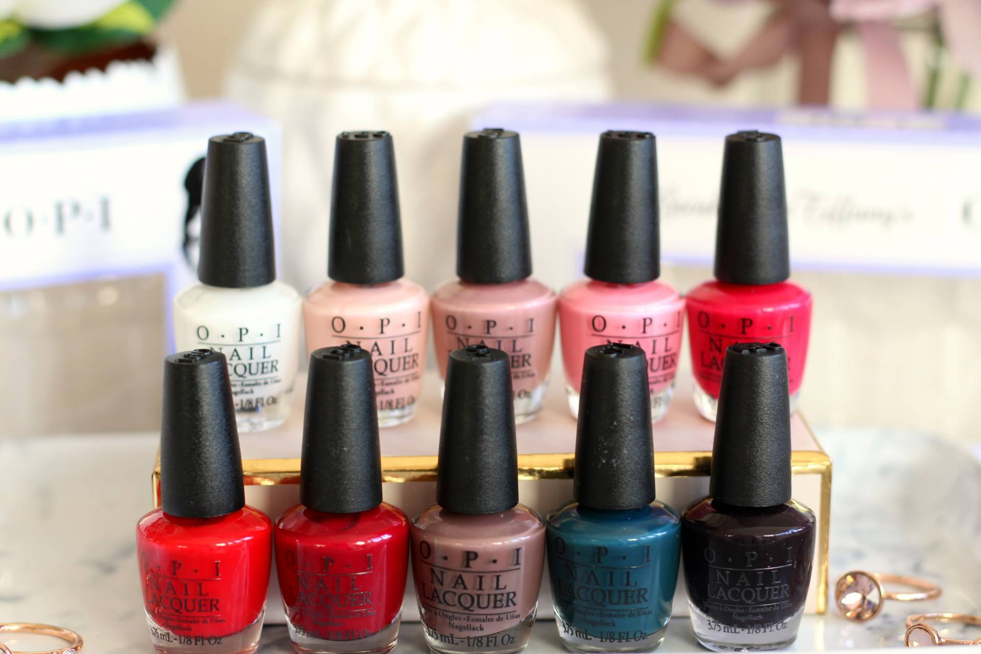 OPI Breakfast At Tiffany's The Classics 10 Mini Nail Lacquer Pack