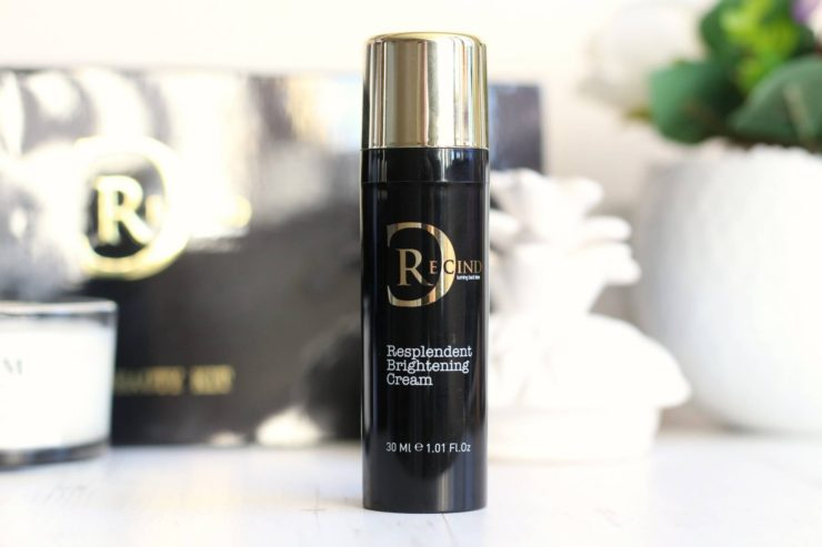 Recind Resplendent Brightening Cream