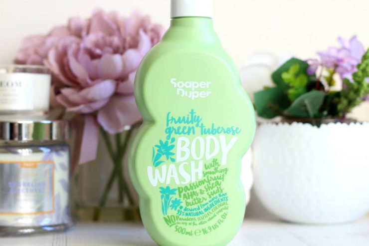 Soaper Duper Fruity Green Tuberose Body Wash