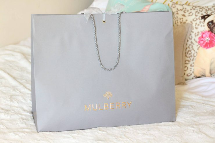 Mulberry medium lily