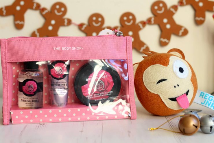 Stocking fillers with The Body Shop