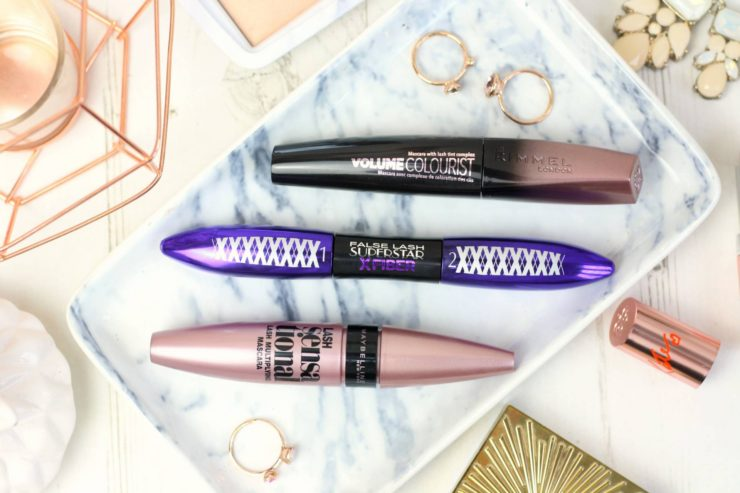 Three drugstore mascaras to try