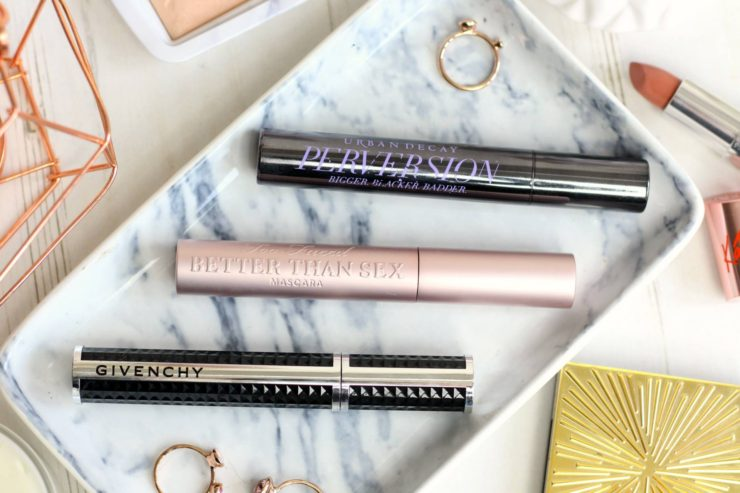 Three high-end mascaras to try this year