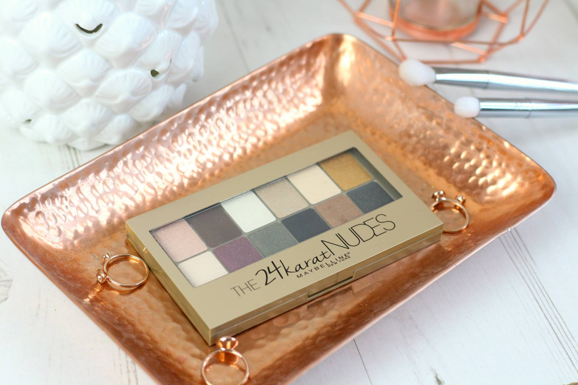 Introducing the Maybelline 24K Nudes Palette