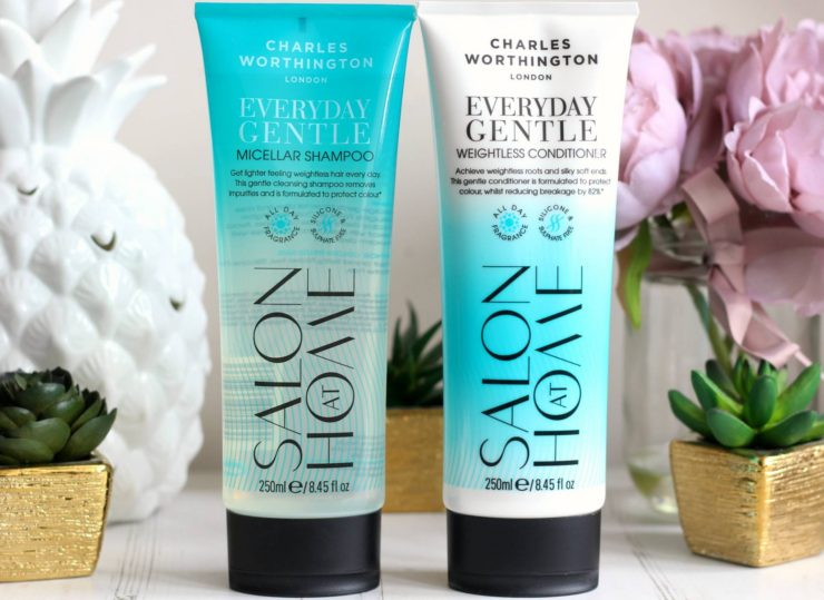 Charles Worthington Everyday Gentle Micellar Shampoo and Conditioner