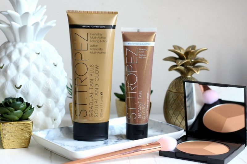 Getting a spring glow with St. Tropez