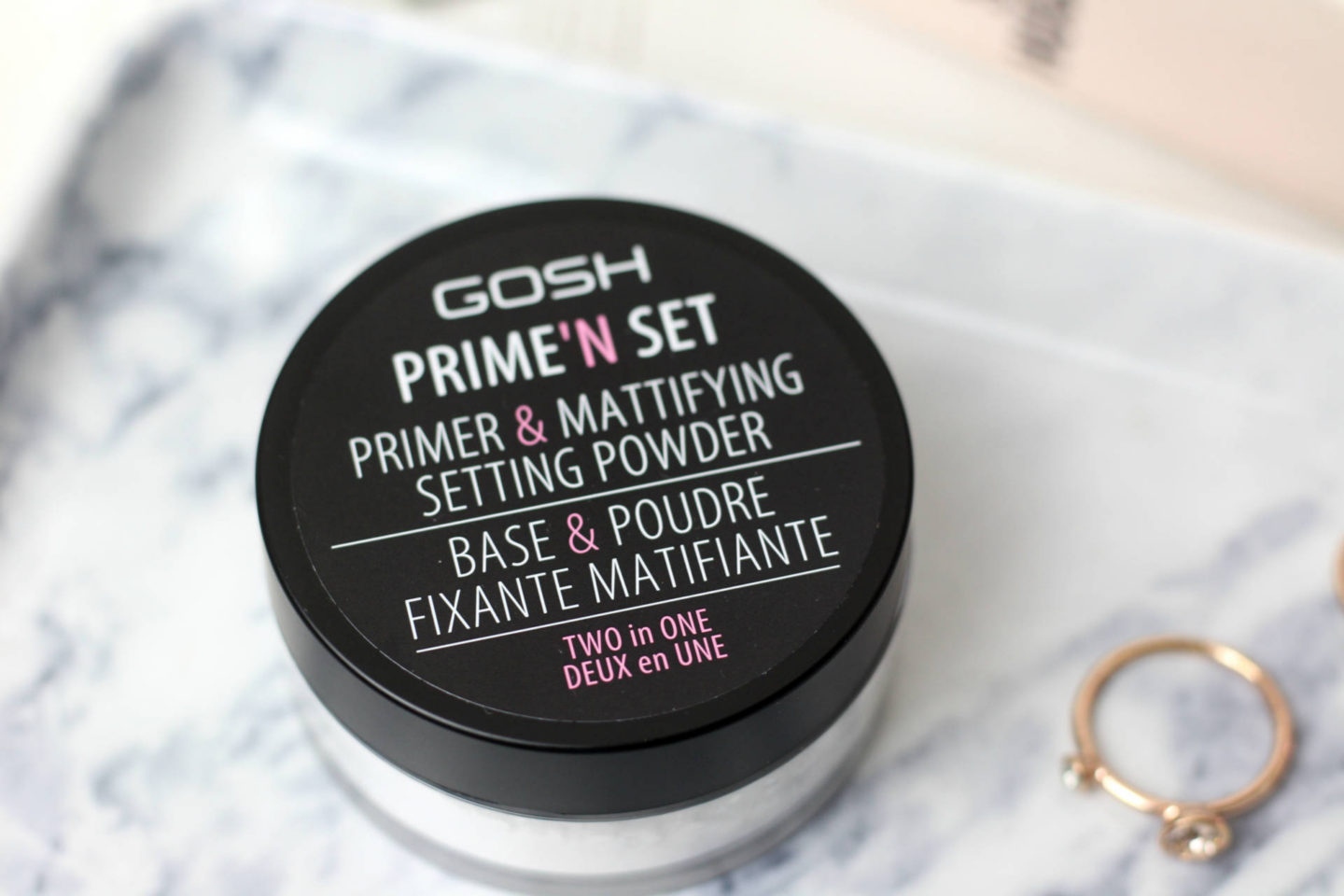 'Set Primer and Mattifying Setting Powder