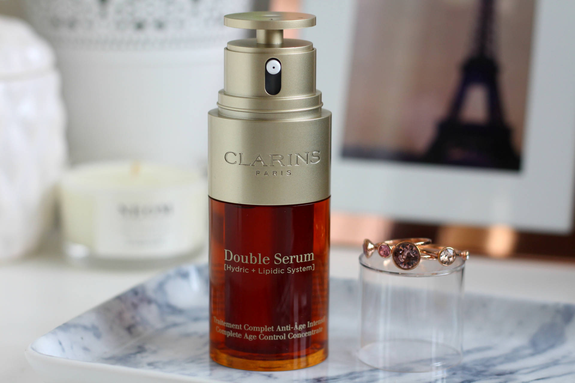 The new and improved Clarins Double Serum