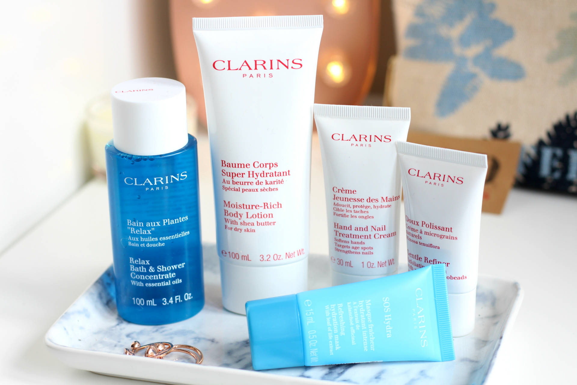 Making a difference with Clarins