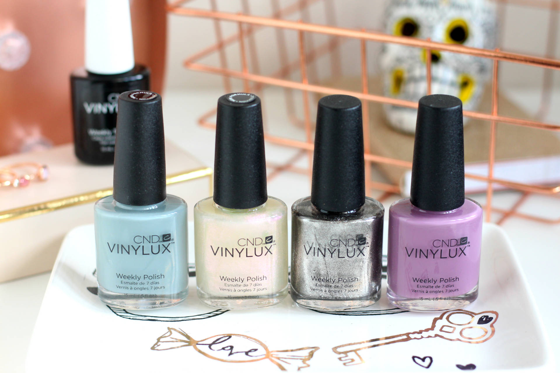 Perfect nails from the CND Vinylux Autumn/Winter Collection