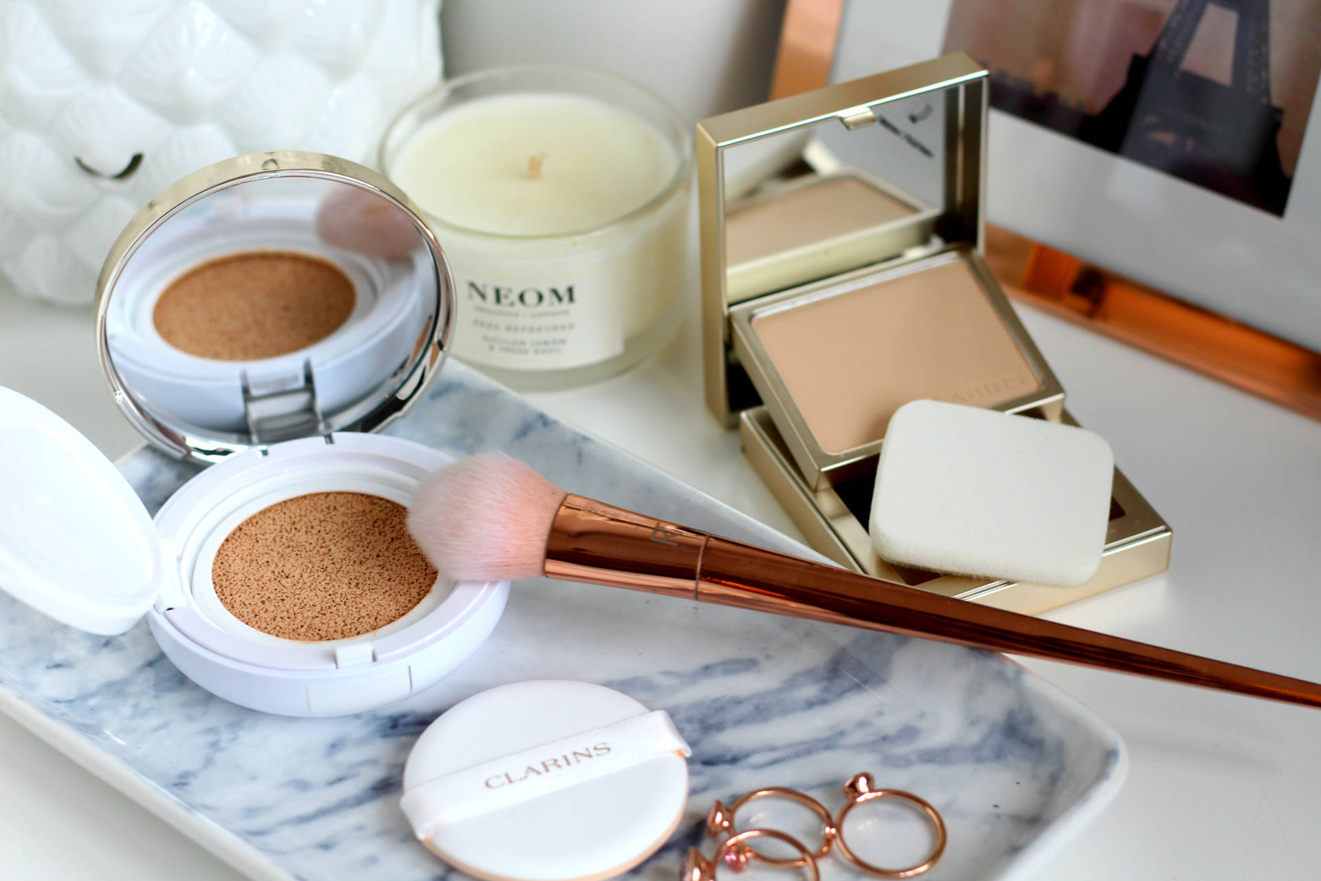 Two new flawless foundations from Clarins