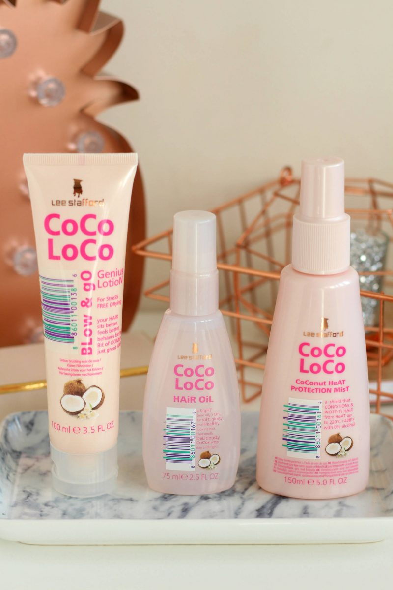 Sweet smelling hair treats from the Lee Stafford CoCo LoCo Collection