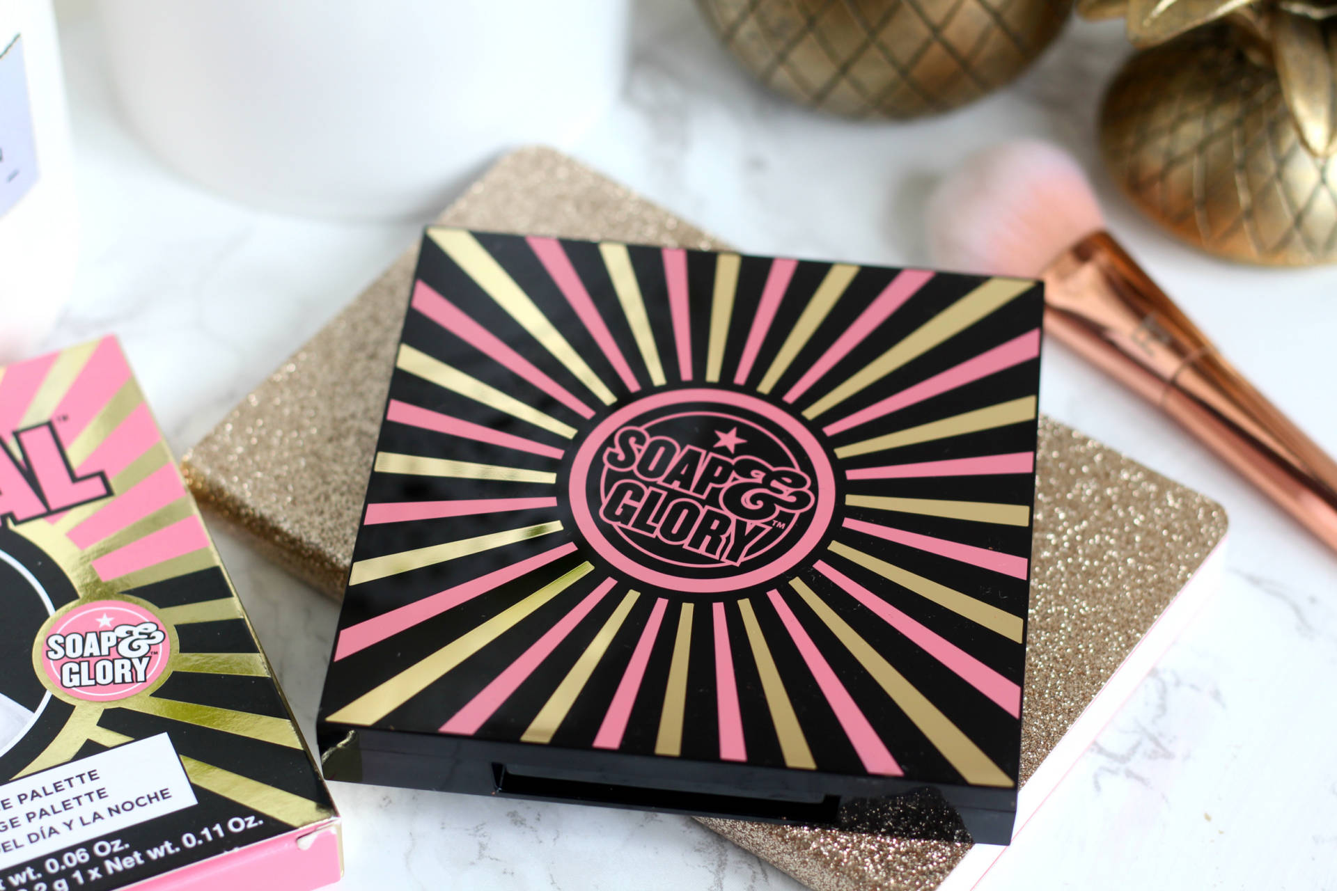 New in | Soap & Glory She's A Natural Day To Night Face Palette