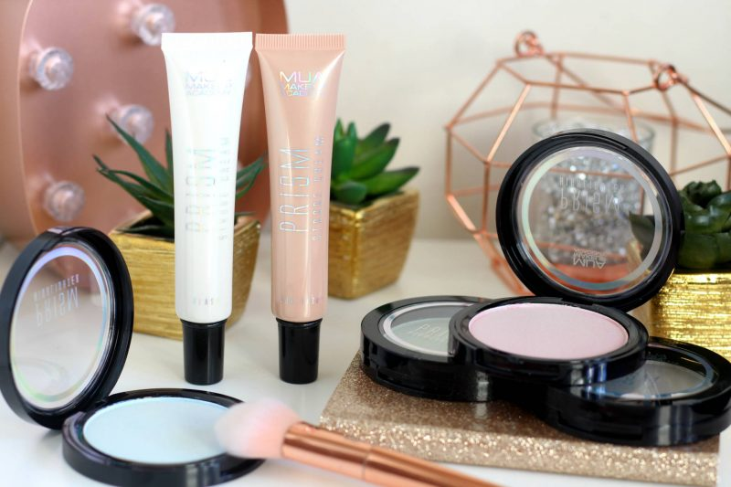 Adding a serious glow with the MUA Prism Collection