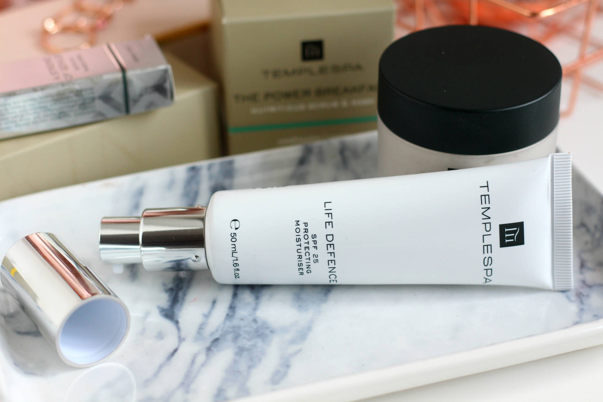 Three to try from Temple Spa