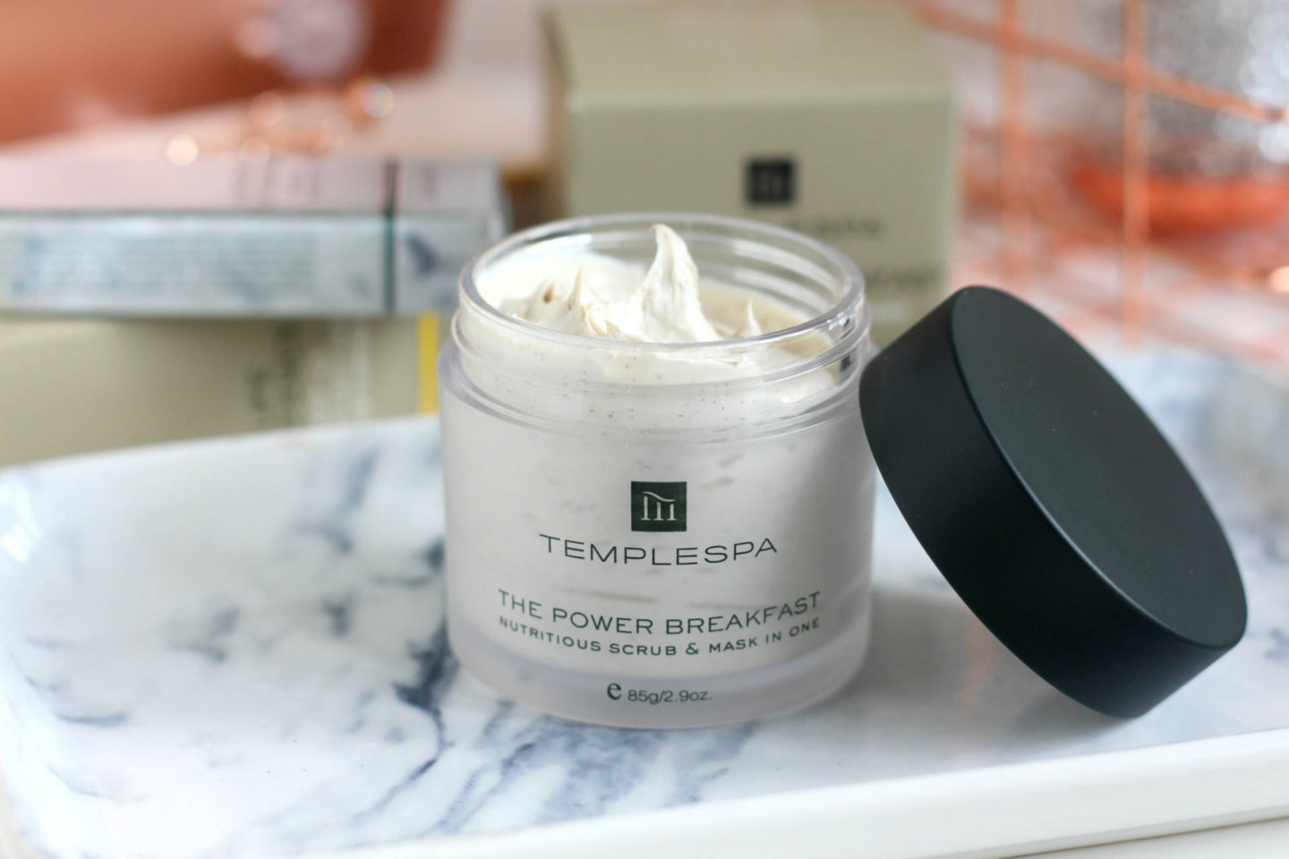 Temple Spa The Power Breakfast Nutritious Scrub & Mask