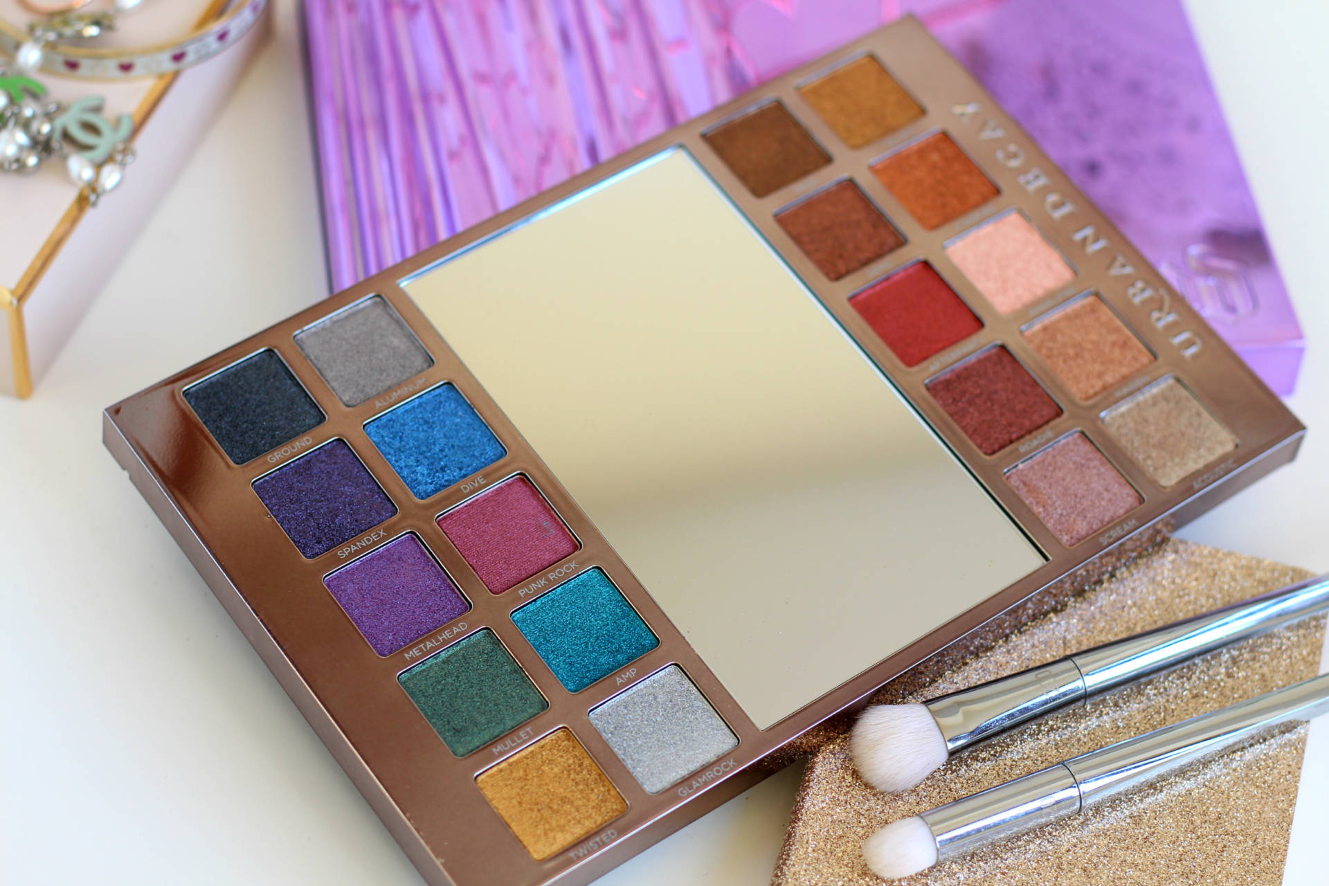 New in | Urban Decay Heavy Metals Palette