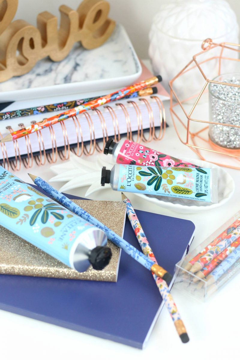 The prettiest partnership, Rifle Paper Co for L'Occitane