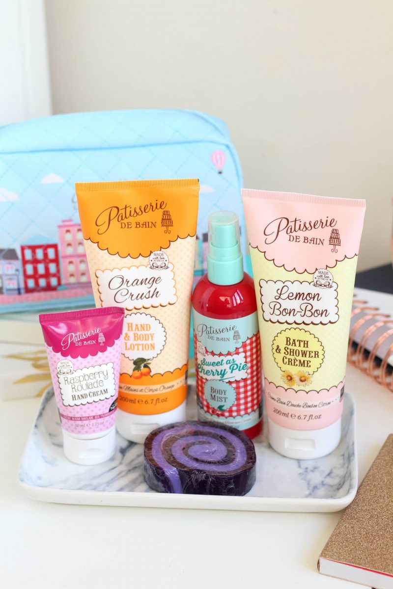 Spring pampering with Patissarie Du Bain