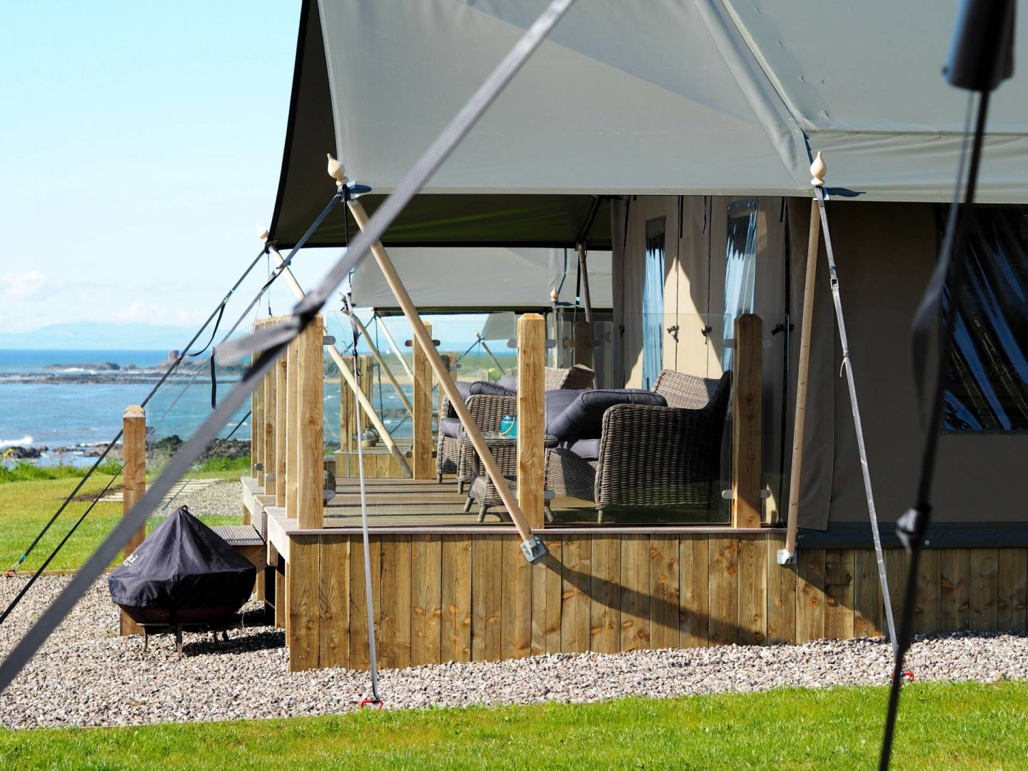 Glamping in Fife